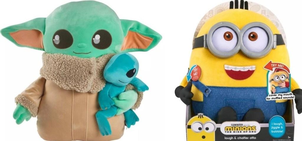 Star Wars and Minion Plush