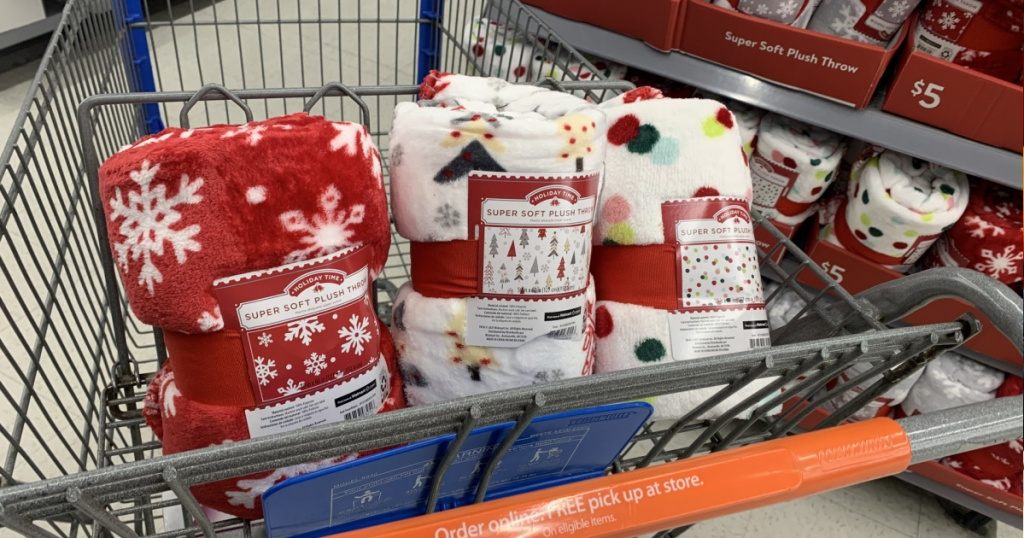 Ace Brushed Plush Vacation Throws Conscionable $5 At Walmart
