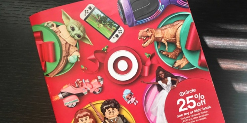Check Your Mailbox for Target's 2021 Holiday Toy Catalog | Includes Free Gift Card Coupon