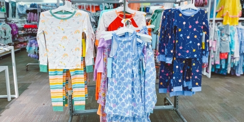 Kids, Toddler, and Baby Pajama Sets from $8 on Target.com | Save on Cat & Jack, Burt's Bees, Star Wars & More