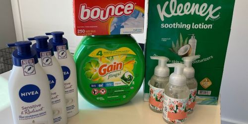 Score $59 Worth of Household & Personal Care Items for Under $28 After Target Gift Cards, Cash Back, & Rebate