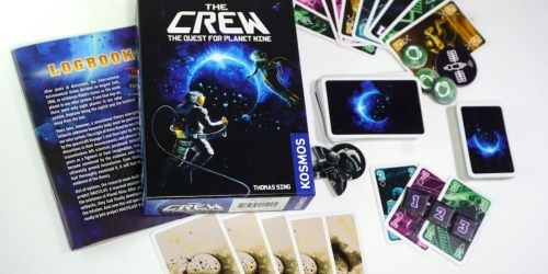 The Crew – Quest for Planet Nine Card Game Only $8 on Amazon or Target.com (Regularly $15)