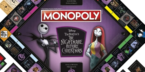 The Nightmare Before Christmas Monopoly Game Only $28.99 Shipped on Amazon (Regularly $42)