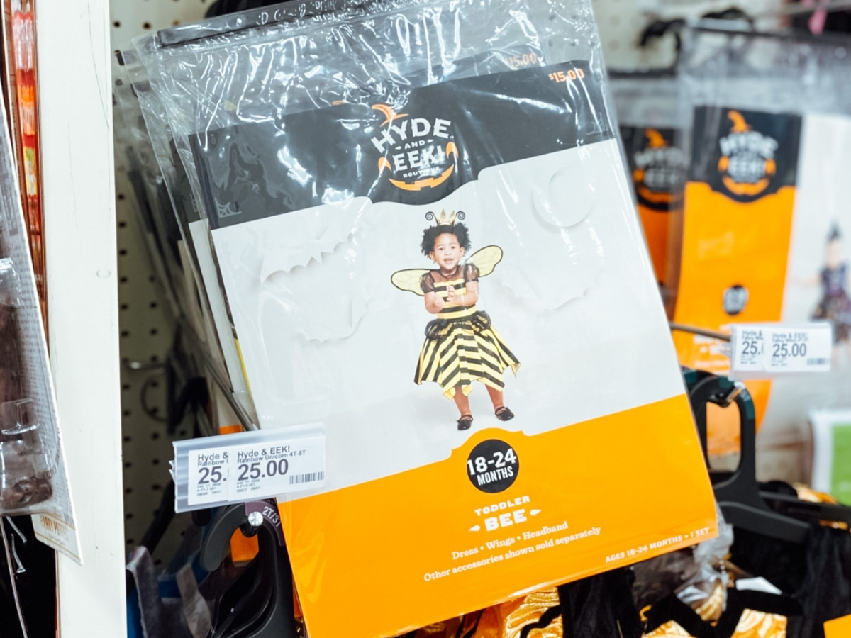 toddler bee halloween costume in store