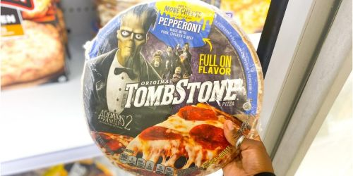 40% Off Tombstone Pizzas at Target |  Easy Halloween Dinner Idea