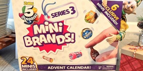 Mini Brands! Advent Calendar Only $22.49 on Target.com (Regularly $30)
