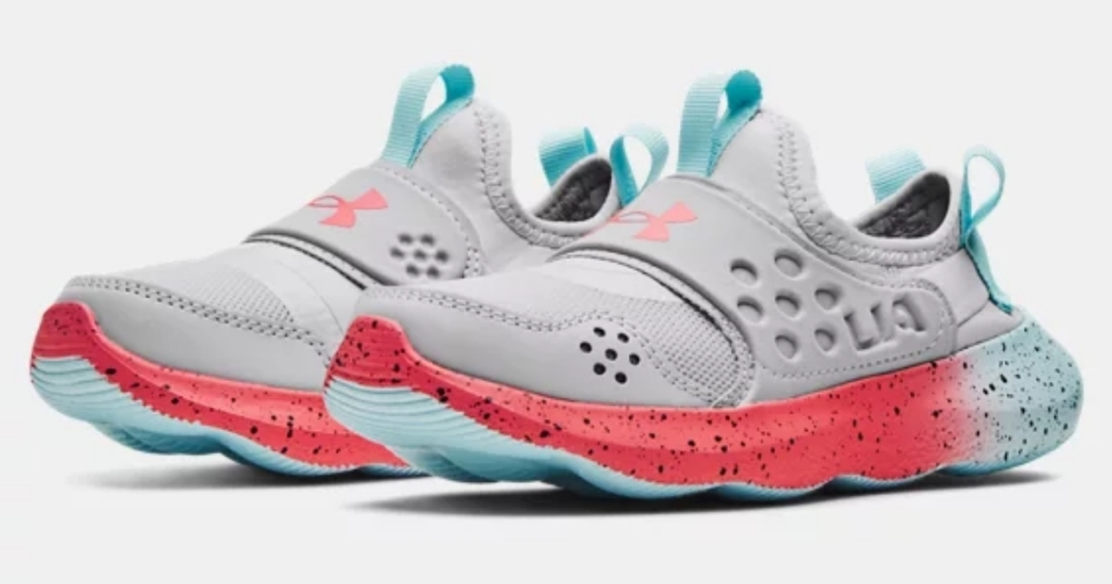 under armour pre school girls fade running shoes