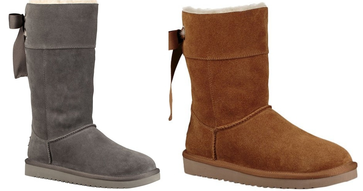 chestnut and gray andrah suede boot by ugg