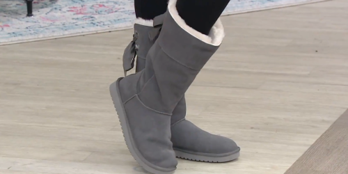 Koolaburra by UGG Suede Boots Only $42.49 on Zulily.com (Regularly $110)
