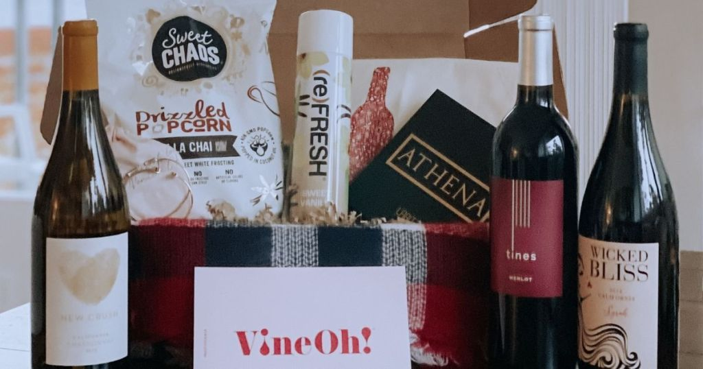 Vino Acquisition Box W/ Jewelry, Snacks & Much Lone $49.98 Delivered (complete $220 Worth) | Awesome Acquisition Thought