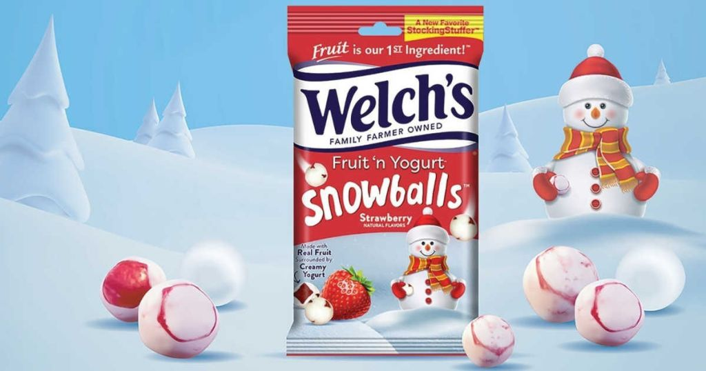 package of Welch's snowballs