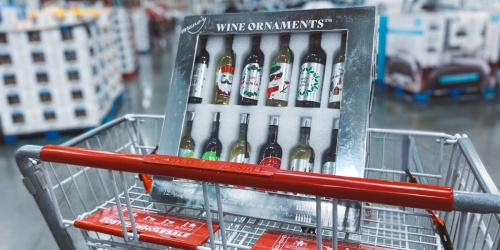 12 Nights of Christmas Wine Ornaments 12-Pack Just $38.99 at Costco