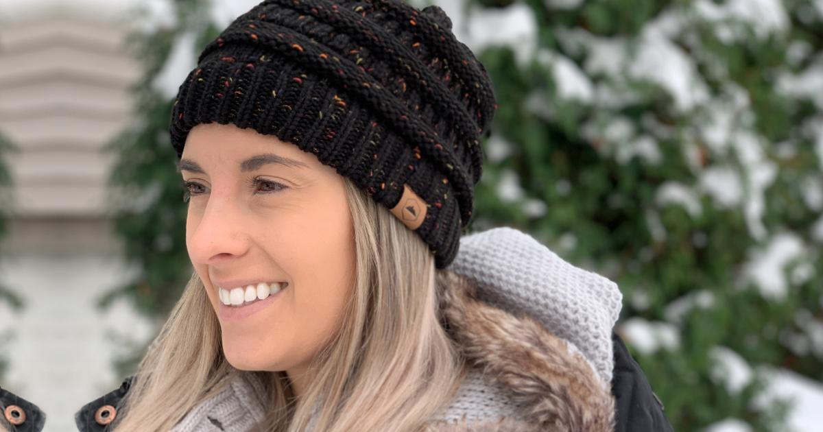 Women's Cablegram Knit Beanies Conscionable $8 On Amazon | So Galore Colour Options!