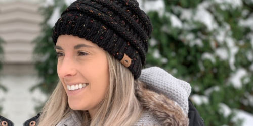Women's Cable Knit Beanies Just $8 on Amazon | So Many Color Options!