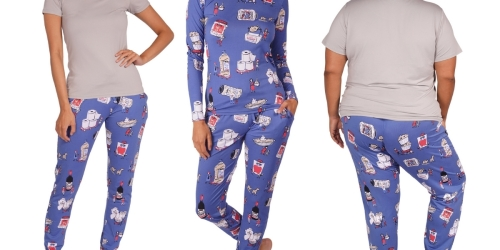 Costco-Themed Women's 3-Piece Pajama Set Only $24.99 Shipped