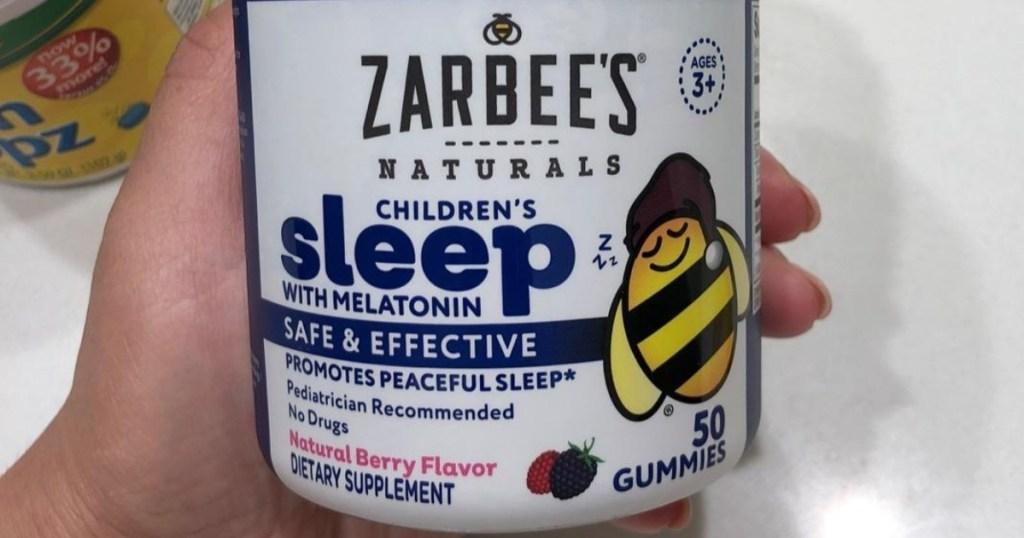 Zarbee's Children's Melatonin Gummies 50-count Lone $10 Shipped On Amazon (regularly $20)
