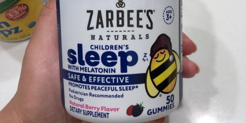 Zarbee's Children's Melatonin Gummies 50-Count Only $10 Shipped on Amazon (Regularly $20)
