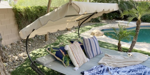 This Modern Outdoor Hammock Bed Fits Perfectly in My Backyard (+ $60 OFF – Lowest Price Ever!)