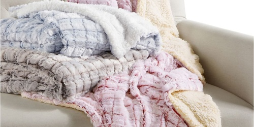 Plush Throw Blankets from $16.79 on Macys.com (Regularly $40) | Great Gift Ideas