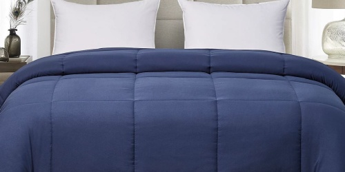 Blue Ridge Reversible Down Alternative Comforter Just $19.99 At Macys.com | Any Size