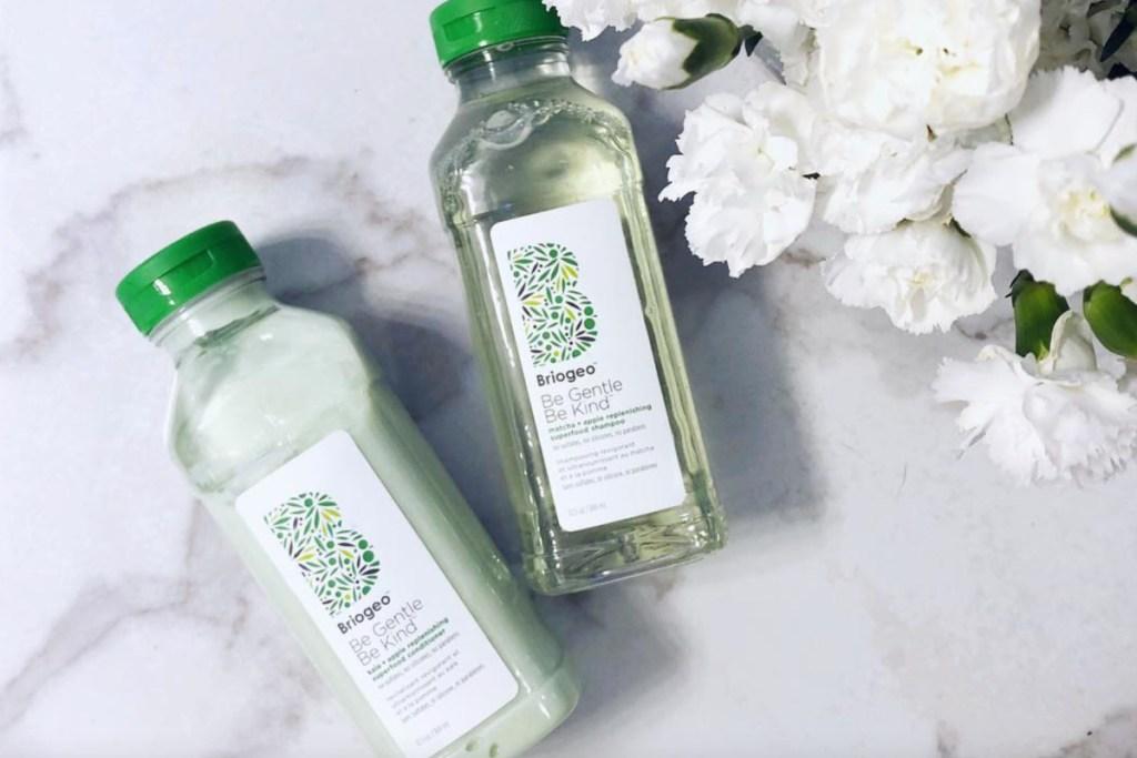 two briogeo shampoos