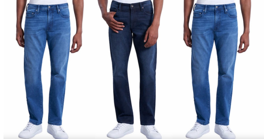 dark and light chaps mens jeans