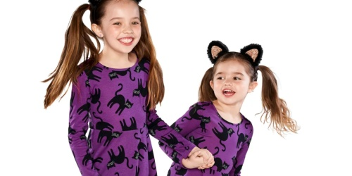 The Children's Place Halloween Cat or Unicorn Skater Dresses ONLY $3.38 Shipped