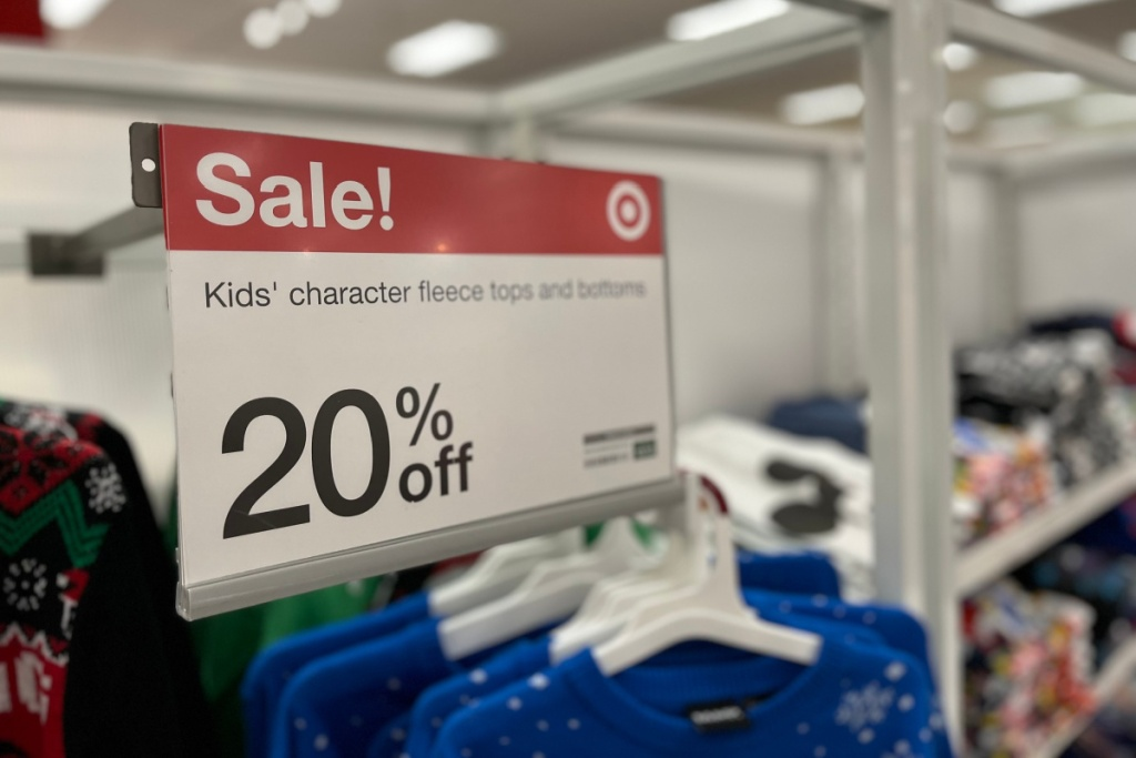 christmas sweater sale in store at target
