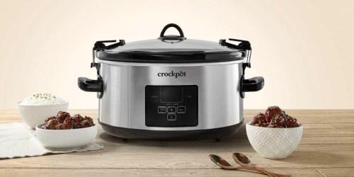 CrockPot 7-Quart w/ Travel Bag ONLY $39.98 on SamsClub.com + More Kitchen Deals