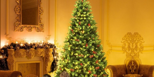 Up to $53 Off Pre-Lit Christmas Trees + Free Shipping