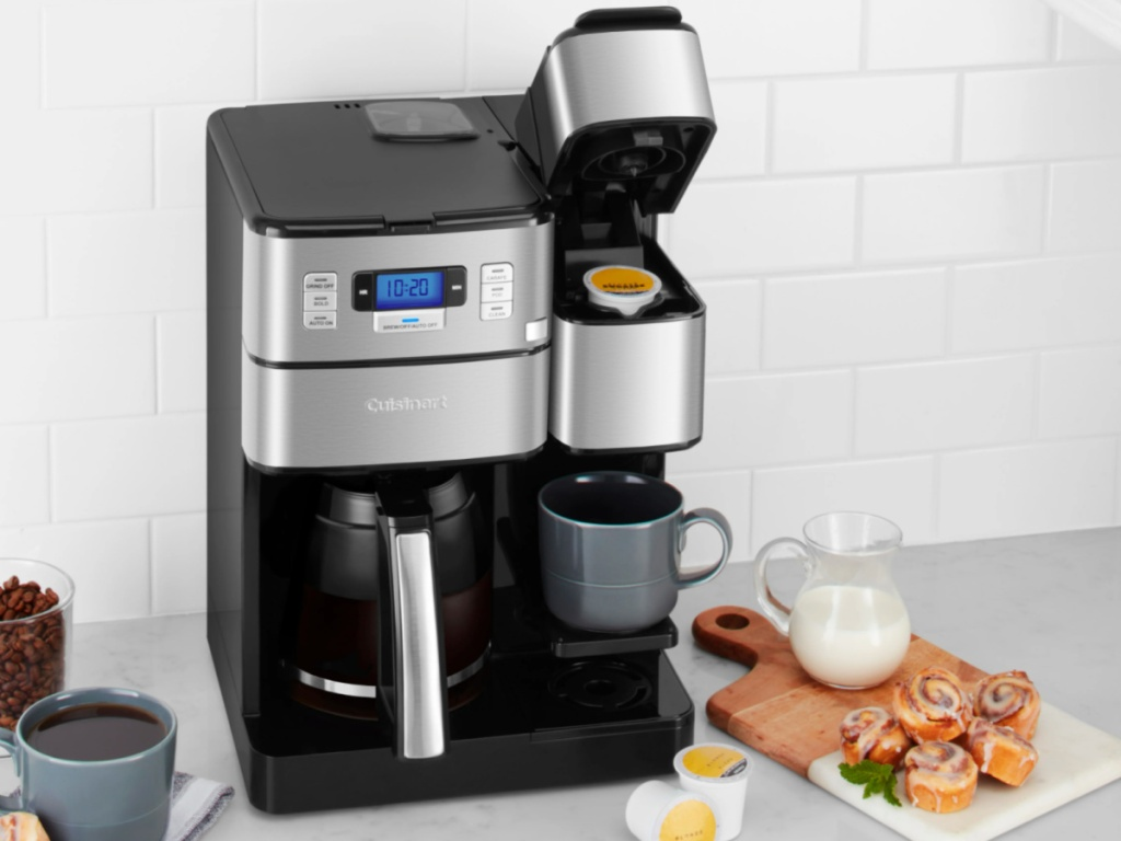 cuisinart 12 cup coffee maker opened