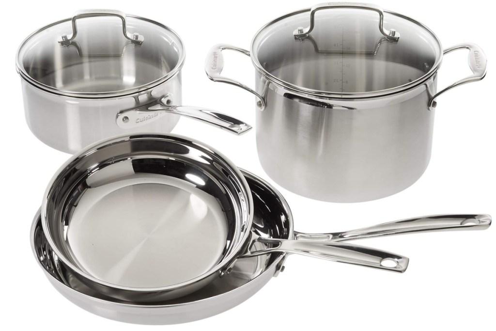 cuisinart stainless steel 6-piece set