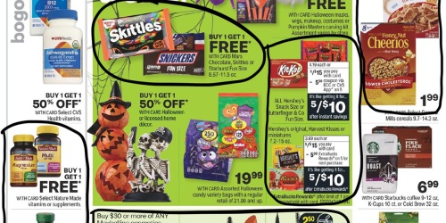CVS Weekly Ad (10/17/21 – 10/23/21) | We've Circled Our Faves!
