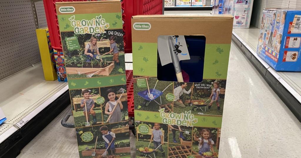 growing garden toy set