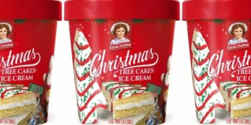 Little Debbie Christmas Tree Cakes Ice Cream Coming to Walmart in November
