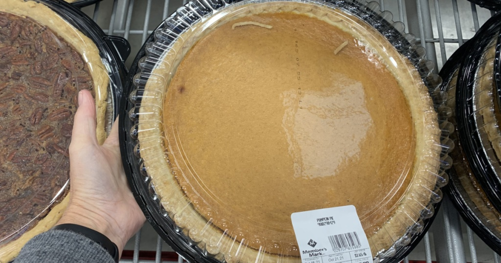 Member's Mark pumpkin pie