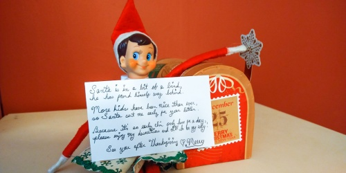 This Reader's Elf on the Shelf Visited a Little Early This Year