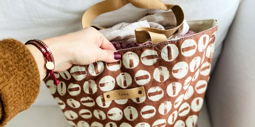 Get Free Personalization on These Team-Fave Minted Bags w/ Leather Straps (+ 20% Off!)