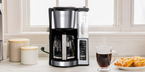 Ninja 12-Cup Programmable Coffee Maker from $59.99 Shipped on HSN.com (Regularly $100)