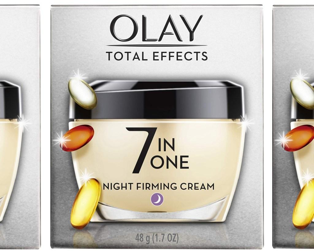 olay night cream box