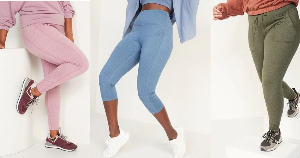 Old Navy Women's & Girls Cozecore Joggers & Leggings From $12 (regularly $30) | Includes Positive Sizes