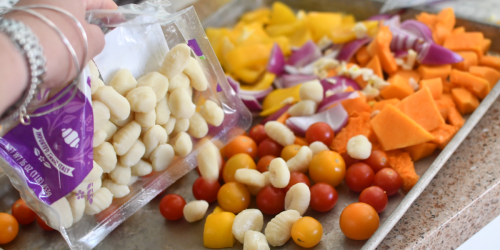 Meatless Meal Idea: Baked Gnocchi and Butternut Squash May Be My Favorite Sheet Pan Dinner!