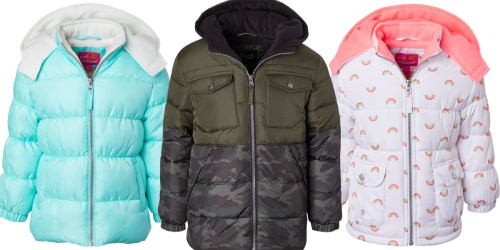Toddler & Kids Puffer Coats Only $16.99 at Zulily (Regularly $45)