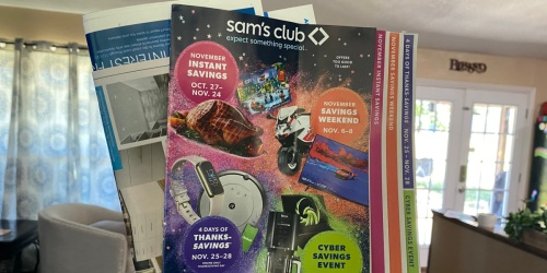 Sam's Club 4 Days of Thanks-Savings Starts November 25th (Black Friday Pricing) | See the Best Deals Now