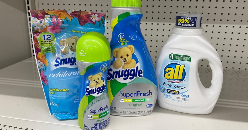 snuggle all laundry detergent