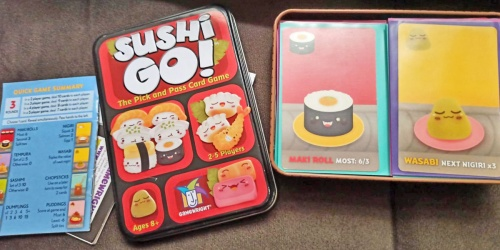 Sushi Go! Card Game Only $5.54 at Target (Regularly $11) | Great Stocking Stuffer