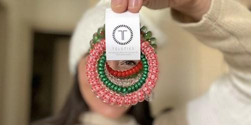Our Christmas Giveaways Start NOW…. Enter to Win Teleties Hair Ties (We're Picking 20 Winners!)