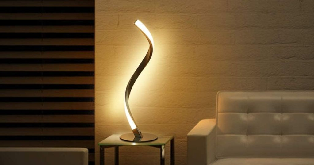 Spiral Led Touch-control Array Lamp Lone $23.99 Shipped On Amazon | 3 Brightness Levels