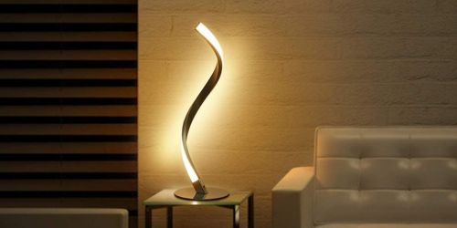 Spiral LED Touch-Control Table Lamp Only $23.99 Shipped on Amazon | 3 Brightness Levels