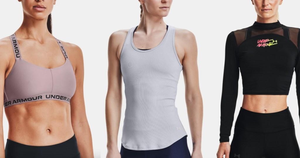 womens under armour workout gear